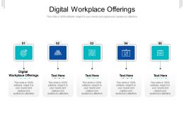 Digital Workplace Offerings Ppt Powerpoint Presentation Infographics Show Cpb