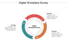 Digital Workplace Survey Ppt Powerpoint Presentation Layouts Example Introduction Cpb