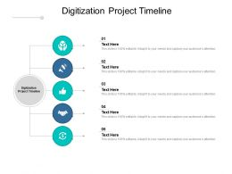 Digitization Project Timeline Ppt Powerpoint Presentation Gallery Cpb