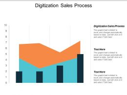 Digitization Sales Process Ppt Powerpoint Presentation Portfolio Background Image Cpb