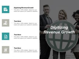 Digitizing Revenue Growth Ppt Powerpoint Presentation Ideas Background Image Cpb