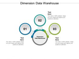 Dimension Data Warehouse Ppt Powerpoint Presentation Portfolio Slides Cpb