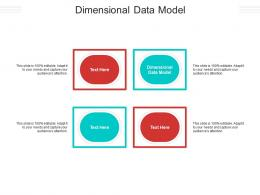 Dimensional Data Model Ppt Powerpoint Presentation Infographics Themes Cpb