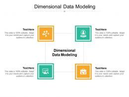 Dimensional Data Modeling Ppt Powerpoint Presentation Portfolio Show Cpb
