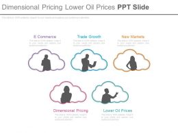 Dimensional Pricing Lower Oil Prices Ppt Slide