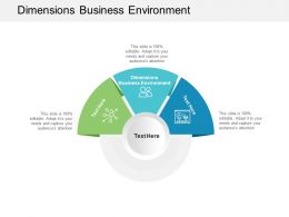 Dimensions Business Environment Ppt Powerpoint Presentation Inspiration Cpb
