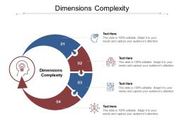 Dimensions Complexity Ppt Powerpoint Presentation Inspiration Slide Download Cpb