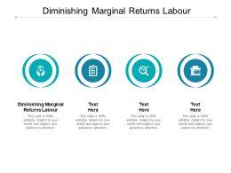 Diminishing Marginal Returns Labour Ppt Powerpoint Presentation Slides Shapes Cpb