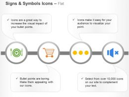 dinner_shopping_no_sound_process_ppt_icons_graphics_Slide01