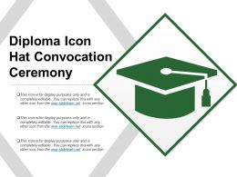 Diploma Icon Hat Convocation Ceremony
