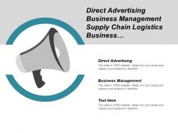 Direct Advertising Business Management Supply Chain Logistics Business Development Cpb