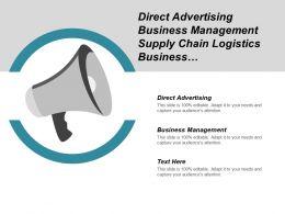 direct_advertising_business_management_supply_chain_logistics_business_development_cpb_Slide01