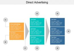Direct Advertising Ppt Powerpoint Presentation Ideas Structure Cpb