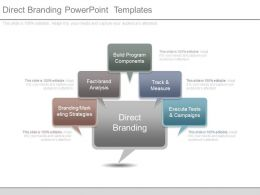 Direct Branding Powerpoint Templates