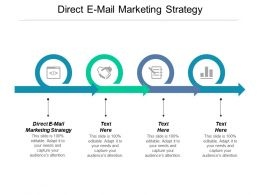 Direct E Mail Marketing Strategy Ppt Powerpoint Presentation Icon Templates Cpb
