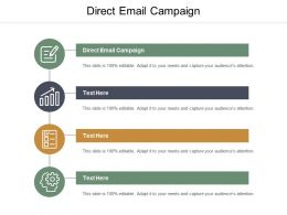 Direct Email Campaign Ppt Powerpoint Presentation Pictures Summary Cpb