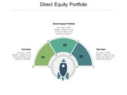 Direct Equity Portfolio Ppt Powerpoint Presentation Portfolio Deck Cpb