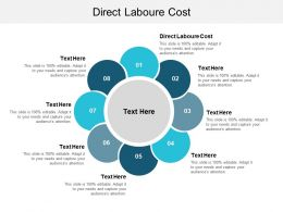 Direct Laboure Cost Ppt Powerpoint Presentation File Graphics Design Cpb