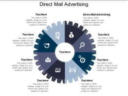 Direct Mail Advertising Ppt Powerpoint Presentation Ideas Slides Cpb