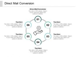 Direct Mail Conversion Ppt Powerpoint Presentation Gallery Infographic Template Cpb