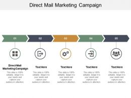 Direct Mail Marketing Campaign Ppt Powerpoint Presentation Slides Objects Cpb