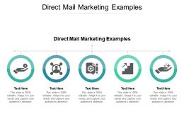 Direct Mail Marketing Examples Ppt Powerpoint Presentation Model Cpb