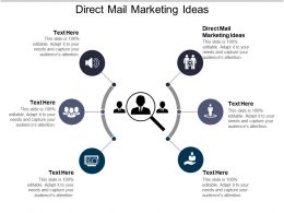 Direct Mail Marketing Ideas Ppt Powerpoint Presentation Ideas Styles Cpb