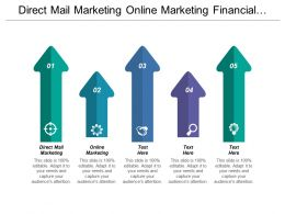Direct Mail Marketing Online Marketing Financial Market Liquidity