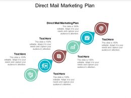 Direct Mail Marketing Plan Ppt Powerpoint Presentation Guidelines Cpb