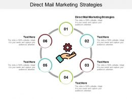 Direct Mail Marketing Strategies Ppt Powerpoint Presentation Outline Graphics Example Cpb