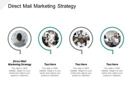 Direct Mail Marketing Strategy Ppt Powerpoint Presentation Infographic Template Visuals Cpb