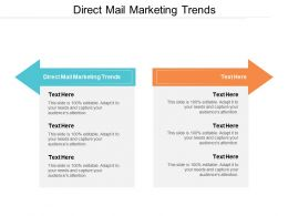 Direct Mail Marketing Trends Ppt Powerpoint Presentation File Visuals Cpb
