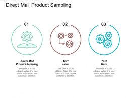 Direct Mail Product Sampling Ppt Powerpoint Presentation File Formats Cpb