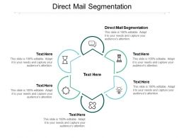 Direct Mail Segmentation Ppt Powerpoint Presentation Slides File Formats Cpb