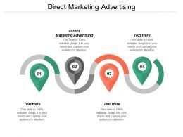 Direct Marketing Advertising Ppt Powerpoint Presentation Pictures Ideas Cpb