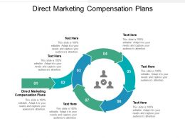Direct Marketing Compensation Plans Ppt Powerpoint Presentation Icon Inspiration Cpb