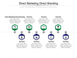 Direct Marketing Direct Branding Ppt Powerpoint Presentation Show Icons Cpb