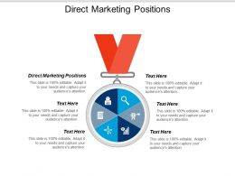 Direct Marketing Positions Ppt Powerpoint Presentation Icon Graphic Images Cpb