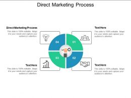 Direct Marketing Process Ppt Powerpoint Presentation Icon Example File Cpb