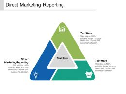 Direct Marketing Reporting Ppt Powerpoint Presentation Summary Inspiration Cpb