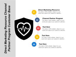 Direct Marketing Resource Channel Partner Program Customer Base Cpb