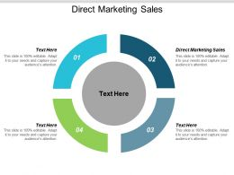 Direct Marketing Sales Ppt Powerpoint Presentation Gallery Structure Cpb