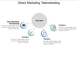 Direct Marketing Telemarketing Ppt Powerpoint Presentation Professional Inspiration Cpb