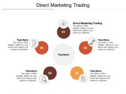 Direct Marketing Trading Ppt Powerpoint Presentation File Tips Cpb