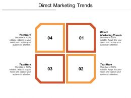 Direct Marketing Trends Ppt Powerpoint Presentation File Deck Cpb