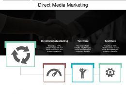 Direct Media Marketing Ppt Powerpoint Presentation Gallery Slide Cpb