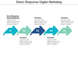 Direct Response Digital Marketing Ppt Powerpoint Presentation File Guidelines Cpb