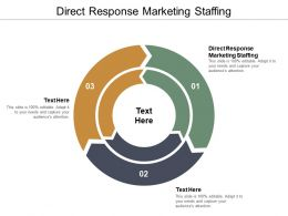 Direct Response Marketing Staffing Ppt Powerpoint Presentation Icon Graphics Example Cpb