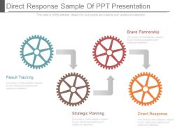 Direct Response Sample Of Ppt Presentation
