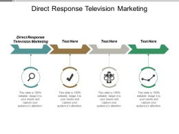 Direct Response Television Marketing Ppt Powerpoint Presentation Gallery Guide Cpb